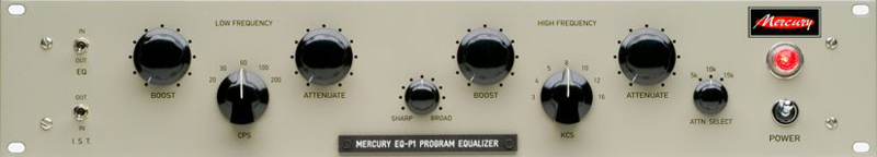 Mercury EQ-P1 EQ